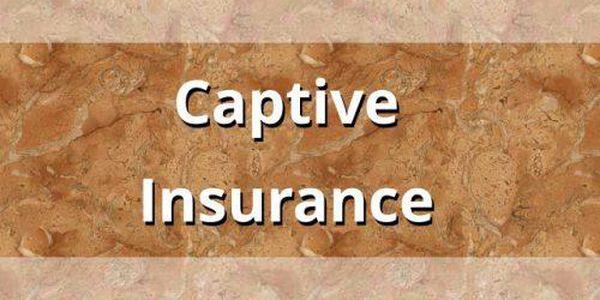 Captive insurance industry
