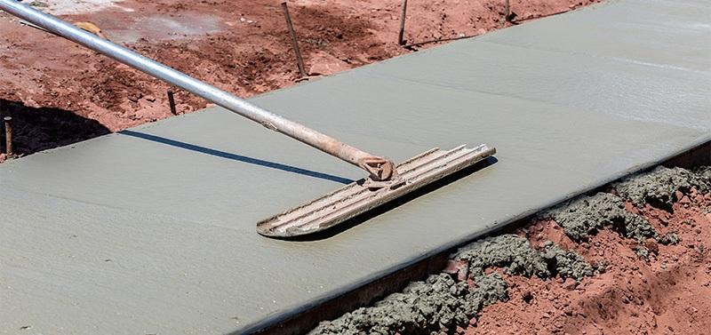 concrete flatwork and concrete surfaces