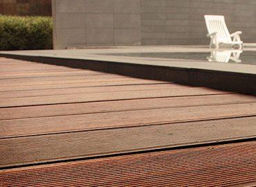 wood decking outdoor